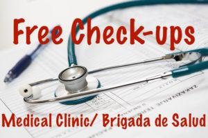 Free medical exams