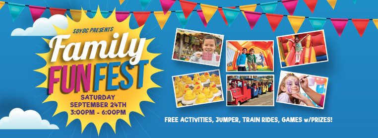 Register now for the Family Fun Fest