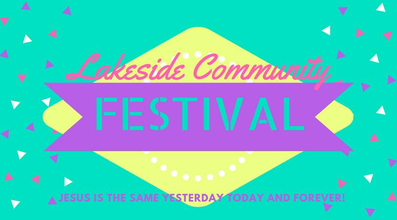 Lakeside Community Festival